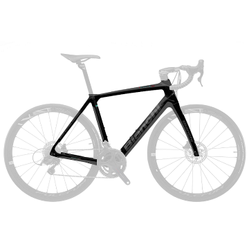 Cadre carbone INFINITO CV DISC Noir/Graphite Glossy 2R Bianchi 2019